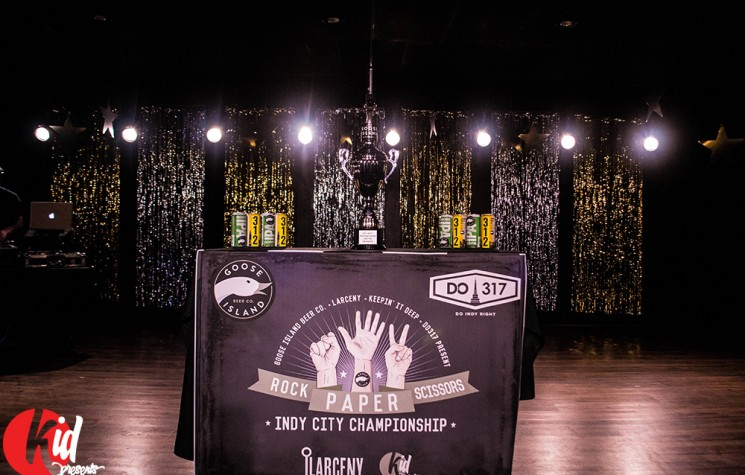 Rock-Paper-Scissors Indy City Championship Recap
