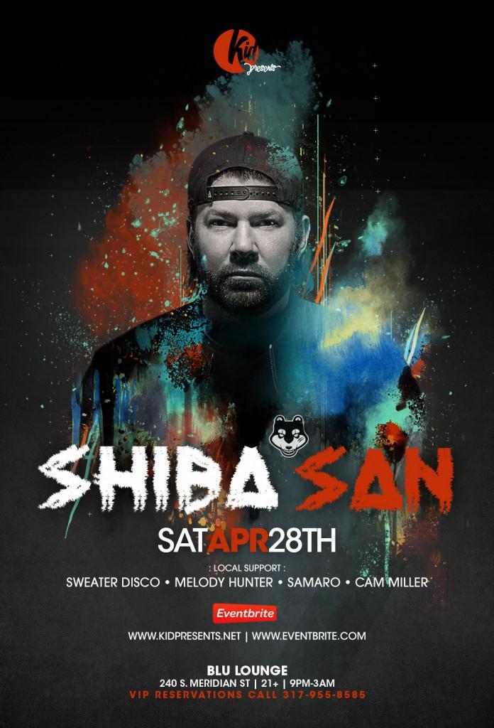 Shiba San Blu Indy Full
