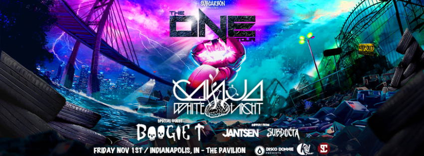 Ganja White Night w/ Boogie T, Jantsen and SubDocta – The One Tour